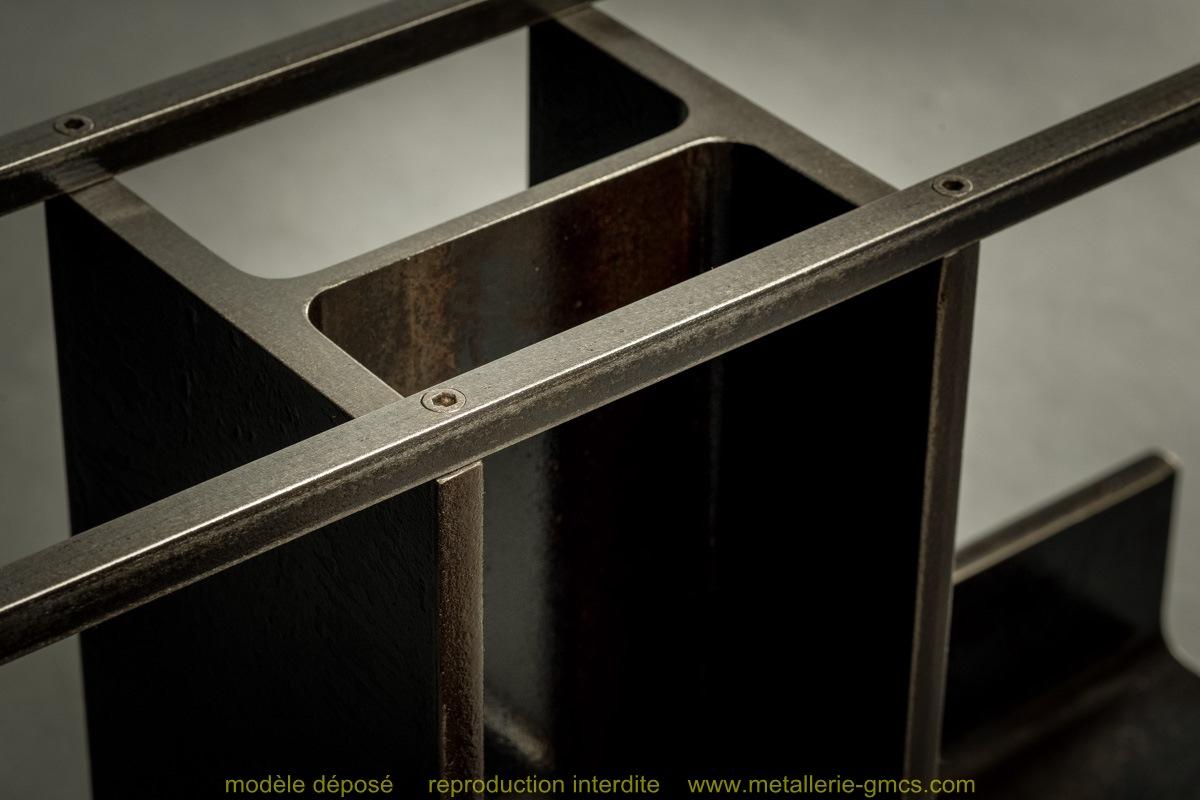 table basse type H détail